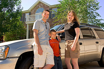 family with Car Insurance Capital District NY